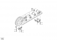 Undercarriage, track guards 8278990,8278991