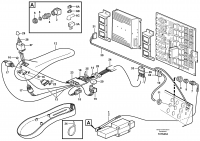 Cable harness, CDC-steering. 80266