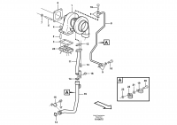 Turbocharger with fitting parts E PROD