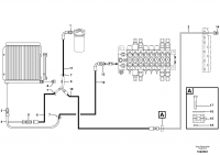 Hydr. circuit. ( Oil cooler )