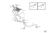Cable harnesses, servo valve. 83198, 83532