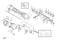 Suction system, filter