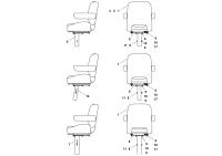 Seat Assembly 15528912, SN 193750-