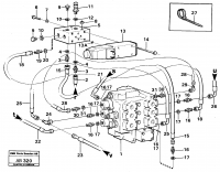 Servo system: control valve with connection parts