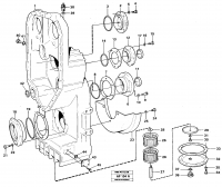 Transfer case, housing and covers