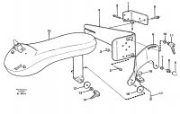 Cdc-steering, armrest, mounting 94609