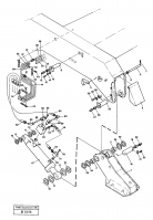 Outrigger equipment with fixed plates 14238804