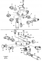 Check valve with fitting parts