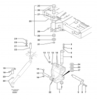 Platform / pivot pin