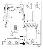 Hydraulic circuit ( snap-action attachment )