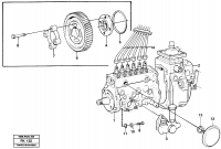 Injection pump with drive TD 61 GE