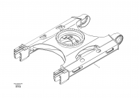 Undercarriage frame
